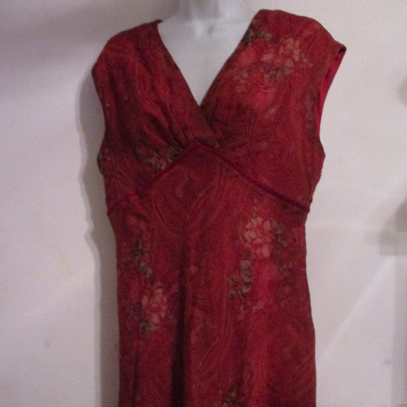 97671a8cccc K Petite Dresses   Skirts - Sleeveless Empire Waist Midi Dress Women s 14P